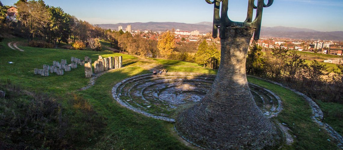 Spomenik neporaženima - Prilep, S. Makedionija